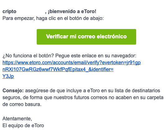 eToro-validar-email