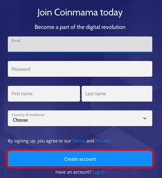 formulario-de-registro-nueva-cuenta-en-Coinmama