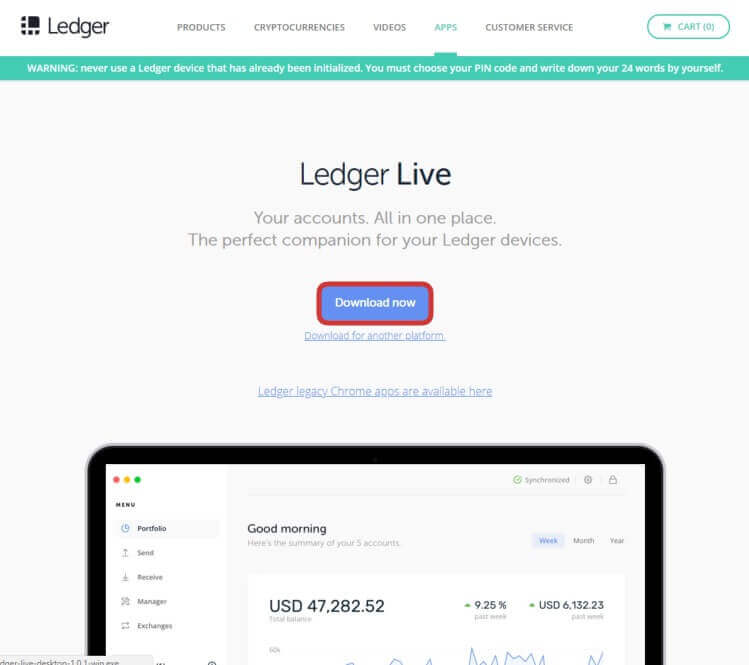 ledger-live-pagina-web-oficial-de-ledger