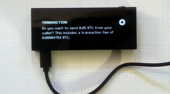 transaccion-bitcoin-monedero-criptomonedas-keepkey